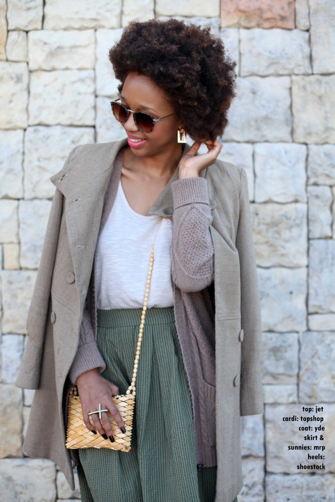 05_layer_lady_olive_green_neautral_tones_natural_afro_hair_topshop_cardi_yde_coat_mrp_midi_skirt_shoestock_shoes_through_shaded_eyes_by_tokelo_mostepe - Copy